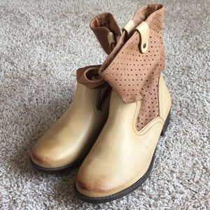 Sonoma Lifestyle Memory Foam Brown Western Boots